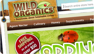 Organic and Green Web development
